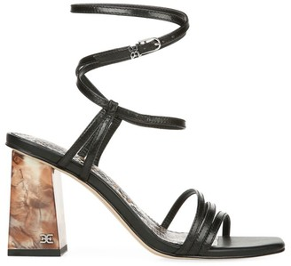 Sam Edelman Doriss Ankle-Wrap Leather Sandals
