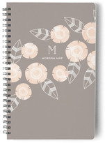 Minted Flora + Stripe Day Planner, Notebook, or Address Book
