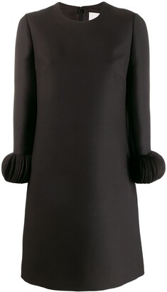 Valentino Ornamental Sleeve Dress