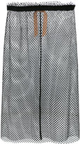 No.21 mesh skirt - women - Cotton/Polyester - 44