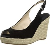 Nine West Women's Forevryung Suede Wedge Sandal