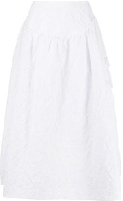 Simone Rocha Matelasse Puffball Skirt