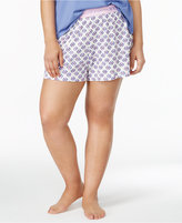 Hue Plus Size Sleep Boxer Shorts