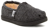 Toms Herringbone Faux Fur Shoe (Little Kid & Big Kid)