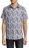 Robert Graham Superstition Multicolor Cotton Polo