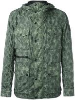 Belstaff camouflage print parka coat