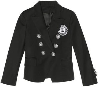 Balmain Kids Exclusive to Mytheresa a wool blazer