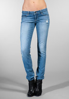 Paige Premium Denim Blue Heights Contrast Pocket