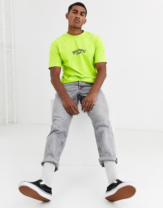 Billabong Bong t-shirt in neon green