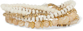 Chan Luu Gold-Tone, Stone And Bead Bracelet