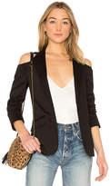 Frame Shoulderless Jacket