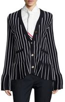 Thom Browne Striped Cotton Cardigan