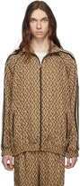 Gucci Brown G Rhombus Track Jacket