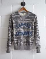 Tailgate Men's Kansas Camo Sweatshirt