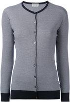 John Smedley striped cardigan - women - Cotton - M
