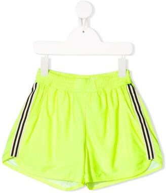 Andorine Racer Stripe Running Shorts