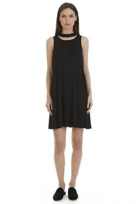 X by Gottex Women's Choker Neck A Line Dress