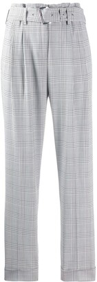 MICHAEL Michael Kors Checked Tailored Trousers