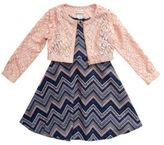 Sweet Heart Rose Sweetheart Rose Two-Piece Jacket and Dress Set