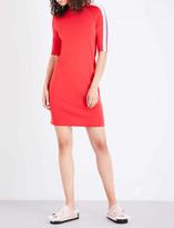 Mo&Co. Raglan sleeve knitted dress