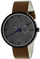 Simplify Men's The 3900 Quartz Watch