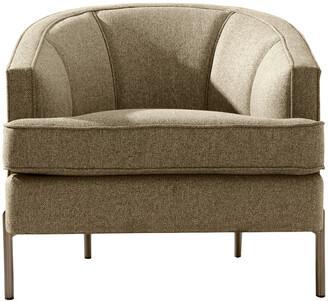 Chic Home Astoria Taupe Club Chair