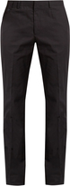 Stella McCartney Slim-fit cotton-gabardine chino trousers