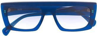 KALEOS Oversized Square Frame Sunglasses