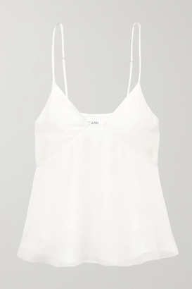 CAMI NYC The Kaia Silk-georgette Camisole