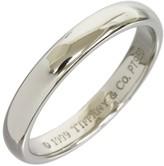 Tiffany & Co. Wedding Platinum Band Ring Size 6.5