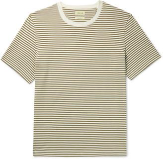 De Bonne Facture Japan Striped Cotton-Jersey T-Shirt