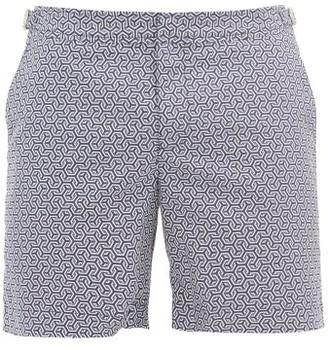 Orlebar Brown Bulldog Oleta-print Swim Shorts - Navy