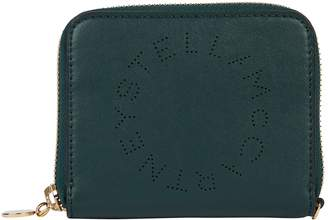 Stella McCartney Leather Zip Wallet