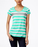 Style&Co. Style & Co. Striped Tee, Only at Macy's
