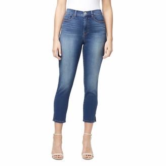 Bandolino Women's Misses Thea High Rise 5 Pocket Crop Jean