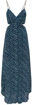 Vix Ventana Ocean Cut-Out Dress