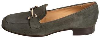 Pascucci Forest-Green Suede Loafers