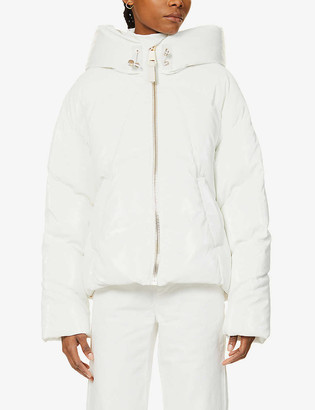 Nicole Benisti Matignon padded shell-down jacket