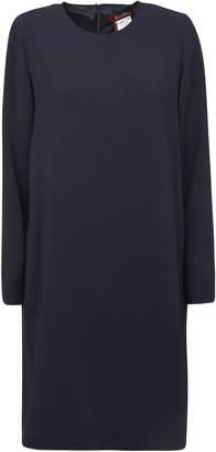Max Mara Back Zip Mid-length Dress