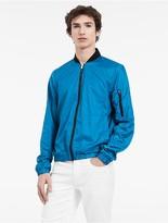 Calvin Klein Platinum Ultralight Poly Bomber Jacket
