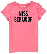 Kate Spade Little Girls 2-6 Miss Behavior Short-Sleeve Top