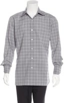 Tom Ford Plaid Dress Shirt