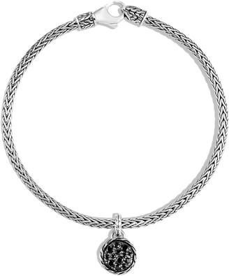 John Hardy Classic Chain Pave Charm Bracelet