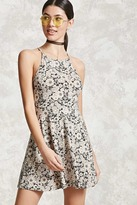 Forever 21 Floral Halter Cami Dress