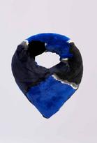 Diane von Furstenberg Rabbit Fur Collar