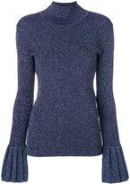 Carven roll neck sweatshirt