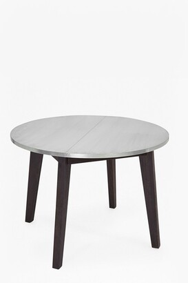 French Connection Agra Round Zinc Dining Table
