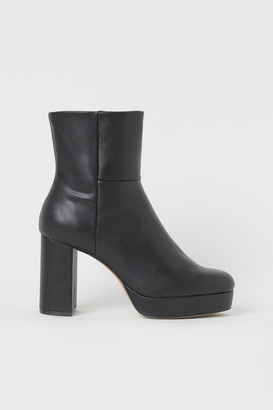 H&M Platform ankle boots