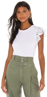 Generation Love Prim Lace Ruffle Top
