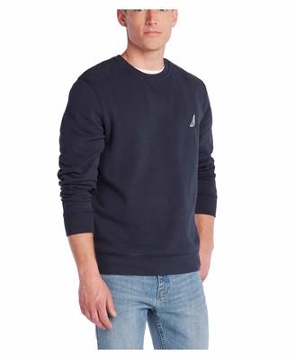 Nautica Men's Classic Fit Crewneck Fleece Pullover